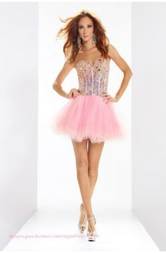Pink Dresses  Homecoming Dress