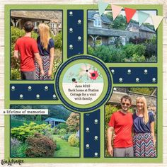 Gorgeous layout using the Lea France Digital Compass 7 Template to scrapbook multiple photos on one page. Cruise Scrapbook, Travel Scrapbook, Disney Scrapbook, Baby Scrapbook, Scrapbook Albums, Scrapbook Cards, Simple Scrapbooking Layouts, Scrapbook Sketches, Scrapbook Templates