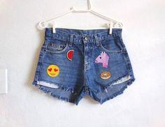Short Jeans Emoticon - 15931948 | enjoei :p