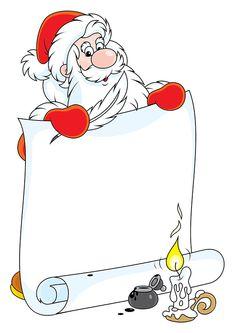 Lettre au Père Noël Christmas Card Sayings, Christmas Frames, Christmas Stickers, Christmas Clipart, Christmas And New Year, Christmas Holidays, Christmas Cards, Christmas Wallpaper Free, Xmas Wallpaper