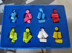 lego party favors | Lego Crayons / Lego Party Favors