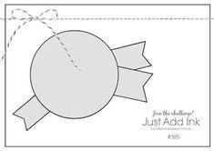 Scissors Paper Card: JAI #385: Just Add A Sketch
