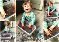 Month 11: Australian Edition- Top 10 Sensory activities for your 11 month old