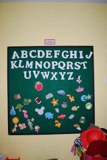 Happy Little Monkey's Tree: My Favorite Creation: Felt Board (Yep, 'I Made It')