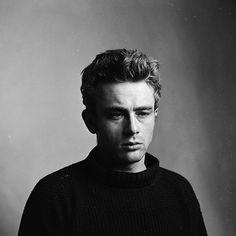 "jamesdeaner: "" James Dean photographed by Roy Schatt, 1954. """