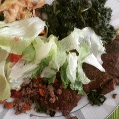 Eu adoro alcatra! É uma carne macia e saborosa e que anima meus almoços  Hoje tem: #salada de alface espinafre refogado bife de alcatra e um restinho de repolho.  Delícia!  #paleo #atkins #keto #primal #lchf #lowcarb #slowcarb #vidasaudavel #barrigadetrigo #semgluten #glutenfree #semlactose #lactosefree #receitaslowcarb #comidadeverdade #instafood #eatrealfood #senhortanquinho #controleseucorpo #diet #dieta #saude #health #fit #fitness