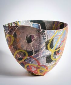 Ceramics - Carolyn Genders is an interesting contemporary artist working in ceramics and also print and paint