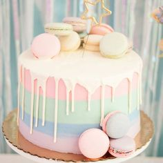 Looking for simple birthday cake ideas that will please any child? - - Birthday Cake Easy Ideen - first birthday cake-Erster Geburtstagskuchen Bolo Drip Cake, Cute Birthday Cakes, Amazing Birthday Cakes, One Year Birthday Cake, Birthday Cake Girls Teenager, 35 Birthday Ideas, 21st Birthday Cake For Girls, Little Girl Birthday Cakes, 13 Birthday