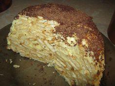 Торт из печенья банановый