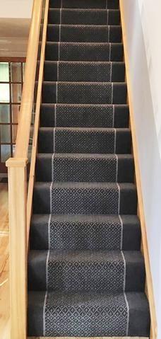 Regina Slate Trellis Flint Insert Slate Border Carpet Stairs Carpet Fitting Carpet Fitters