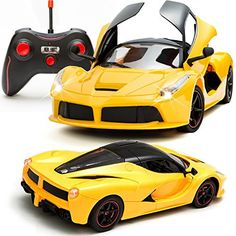 643948785bdb Remote Control Ferrari Opening Doors Toys For Boys