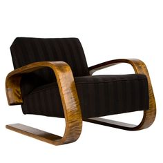 Check out the deal on Alvar Aalto Tank Chair at Eco First Art Furniture Styles, Sofa Furniture, Modern Furniture, Furniture Design, 1930s Furniture, Futuristic Furniture, Plywood Furniture, Alvar Aalto, Living Room Accents