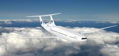 Avião conceitual do MIT economiza 70% de combustível