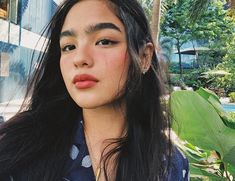 Omo😯Why so pretty🌺✨ Filipina Actress, Filipina Beauty, Cute Makeup, Makeup Looks, Natural Eyebrows, Teen Actresses, Asia Girl, Celebs, Celebrities