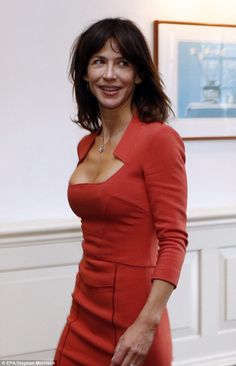 Still every inch the Bond girl! The World is Not Enough star Sophie Marceau…