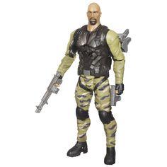 G.I. Joe Retaliation Ninja Commando Roadblock Figure