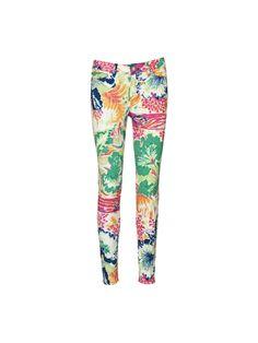 Taliana printed jeans - By Malene Birger - £145.00