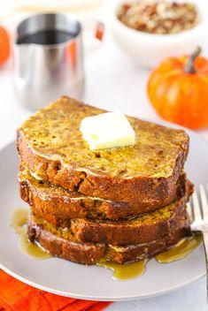Pumpkin Bread French Toast   The Ultimate Fall Breakfast Idea