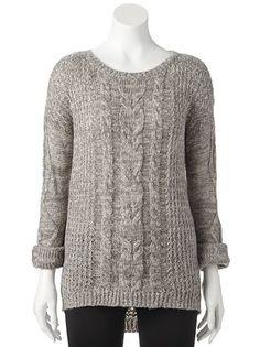 JJ Always Cable-Knit Sweater - Juniors #Kohls