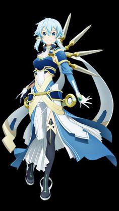 Anime Art Girl, Manga Art, Strong Female Anime Characters, Shino Sao, Kingdom Hearts Anime, Asada Shino, Sword Art Online Wallpaper, Sword Art Online Kirito, Anime Crossover
