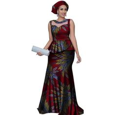 African Style Long Dress For Women Cotton Print Kitenge Ankara with Head African Style Long Dress For Women Cotton Print Kitenge Ankara with He – Afrinspiration African Dresses Online, African Maxi Dresses, Ankara Dress Styles, African Dresses For Women, African Attire, African Wear, African Style, African Outfits, African Beauty