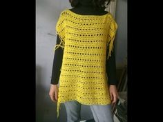 How to Crochet a Mesh Beach Swimsuit Cover-Up Tunic - YouTube
