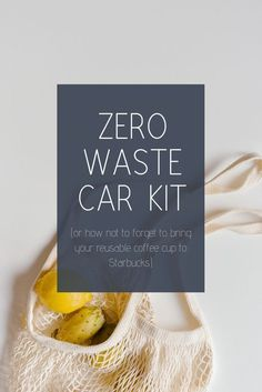 My Zero Waste Car Kit My Zero Waste Car Kit Never forget your reusable grocery bags or coffee cups again! Reduce Waste, Zero Waste, Plastik Recycling, Reusable Coffee Cup, To Go, Plastic Waste, Sustainable Living, Along The Way, Coffee Cups
