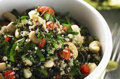 Lentil and quinoa salad  https://www.facebook.com/pages/Wendys-30-Day-Detox-Challenge