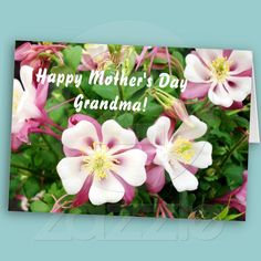 A beautiful card for a grandmother on the Mothers Day.