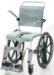 Aquatec Ocean Shower Chair with 24 Inch Wheels mobile shower commode chair Shower Commode Chair, Shower Chair, Cheap Chairs, Cool Chairs, Desk Chairs, Office Chair Cushion, Chair Cushions, Shower Wheelchair, Chairs