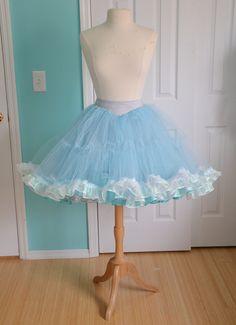 Making a Cinderella Inspired Petticoat