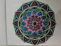 Freehand sacret geometry