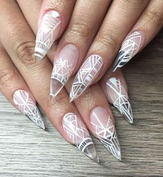 131 Best Clear Nails Images On Pinterest Pretty Nails Cute Nails