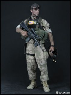 Modern War (1990s to Present) US Navy SEALs - DEVGRU - Gold Team, Somalia 1993 - OSW: One Sixth Warrior Forum Awesome Toys, Cool Toys, Seal Team 6, Us Navy Seals, Military Action Figures, Easy Day, Game Ideas, Special Forces, Weapon