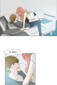 Jiho and Sia // Manhwa // Untouchable//