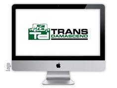 Logo criado para a empresa Transdamasceno pela agência Nkdesign