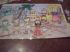 Printable Book of Mormon paper dolls. So cute!