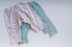 Baby Harem Pants - great for accommodating cloth nappies