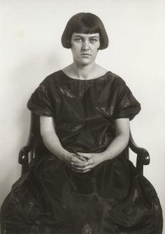 August Sander. Painter's Daughter. c. 1926.