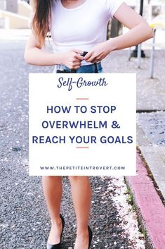 Are you tired of half-finished projects and unread self-improvement books piling up? Check out this guide on how to stop feeling overwhelmed and start reaching your goals. Use these steps to create a personal development plan that fits your lifestyle. Self Development, Personal Development, Books For Self Improvement, How To Make Smoothies, Goal Planning, Good Habits, Healthy Habits, Change Your Mindset, Personal Goals