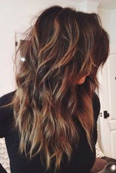 Sexy and Stylish Long Layered Haircuts ★ See more: http://glaminati.com/sexy-and-stylish-long-layered-haircuts/