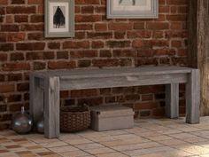 Rustikální lavice dřevěná Country 24 Teak, Entryway Tables, Country, Furniture, Home Decor, Eten, Projects, Decoration Home, Rural Area