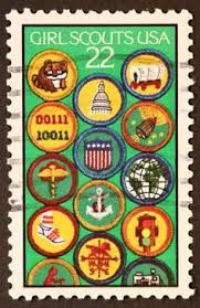 scout postage stamps