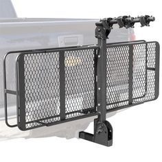 "Trailer Hitch Luggage Rack 60"" Folding Truck Car Cargo Carrier Basket Luggage Rack Hitch Hauler"