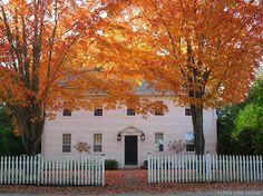 Tone on Tone: Autumn in Castine, Maine