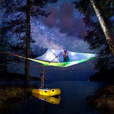 Tentsile Connect Baum Zelt Dach in hellgrün für 2 Erwachsene oder 1 Erwachsener in Sport, Camping & Outdoor, Zelte & Strandmuscheln   eBay