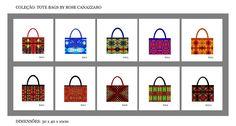Kit Com 10 Bags Tote By Rose Canazzaro - Atacado - R$ 780,00 no MercadoLivre