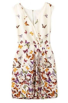 butterfly dress - wonder where to get fabric like that though...