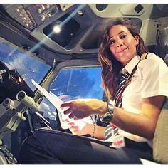 @echosierra85 - Repost - #girlpilot #femalepilots #aviation #airlinepilots #sky_unlmtd - #crewiser #aviationpilotuniform