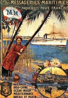 Muchos italianos viajaban hasta el puerto francés de Le Havre para embarcarse rumbo a América del Sur o del Norte.